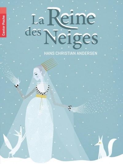 image couverture la reine des neiges hans christian andersen castor poche flammarion jeunesse
