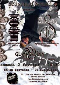 season of souds @ jardin moderne (affiche)
