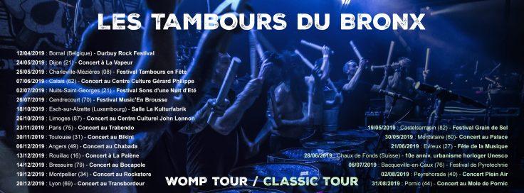Les Tambours du Bronx Tournée 2019 3