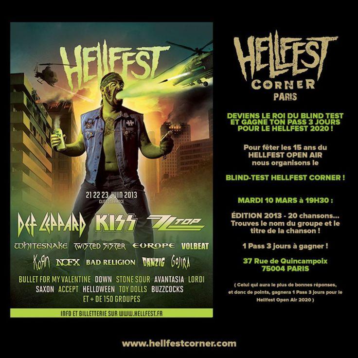 Blind Test Hellfest Corner 2013