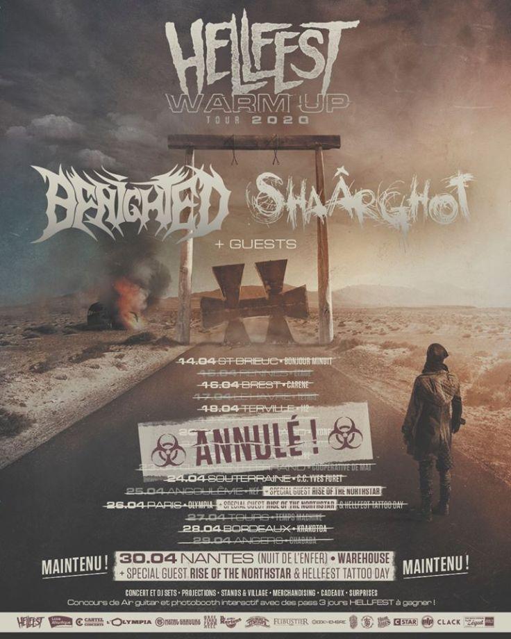 Hellfest Warm Up Tour annulé