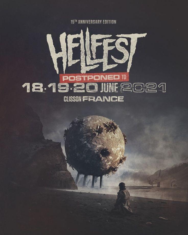 15e édition du Hellfest (affiche)