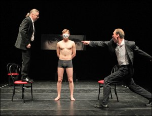 """Being Harold Pinter"" by Belarus Free Theater 