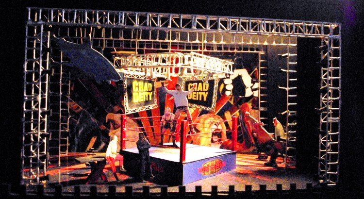 "Brian Sidney Bembridge's model for ""The Elaborate Entrance of Chad Deity"" 