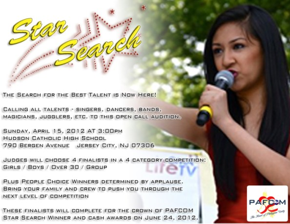 PAFCOM STAR SEARCH