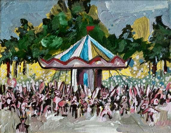 Iranian painter fuses kabuki, Bosch, Persian folklore in Dubai solo show
