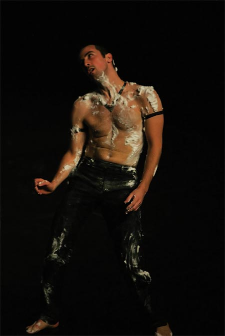 Not a performance review |  French choreographer David Wampach spoofs John Waters film, dances with shaving foam
