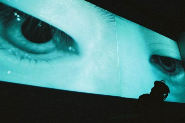 "Tadasu Takamine's eyes in ""Kimura-san"" | Courtesy of Queer New York International Arts Festival"