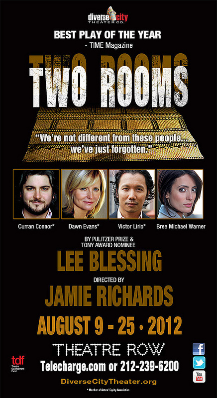 Diverse City Theater Company's production of TWO ROOMS by Lee Blessing