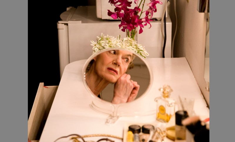 Marian Seldes as captured backstage by Rivka Katvan | Photography by Rivka Katvan