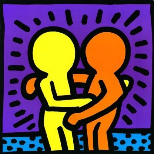 Untitled (1987) Art Print by Keith Haring
