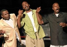 "Stanley Makuwe's play ""The Coup"""