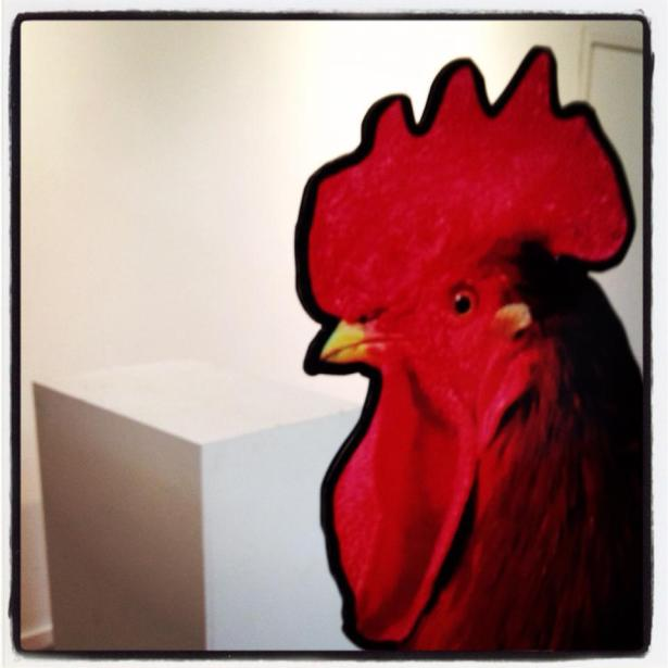 Day 1 of our installation | Brian Sidney Bembridge's giant cock for THE ELABORATE ENTRANCE OF CHAD DEITY