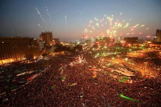Egypt's Revolution 2.0. Courtesy of the Guardian
