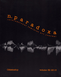 n.paradoxa, a feminist journal