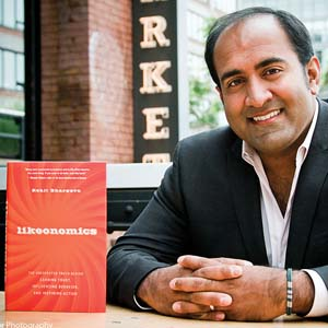 """Likeonomics"" author Rohit Bhargava"