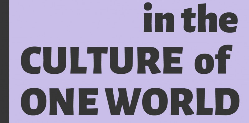 Homepage Logo In the Culture of One World