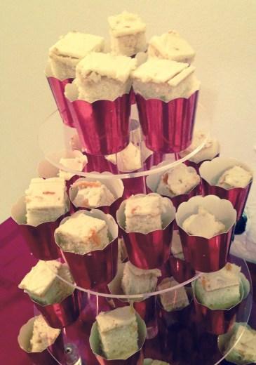 Champange vanilla cake by Yulissa's Creations