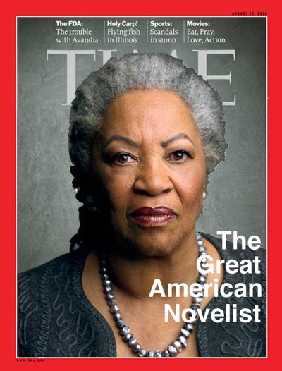 U.S. Novelist Toni Morrison