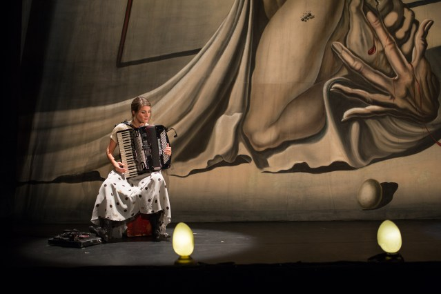 "Andrée-Anne Gingras-Roy in ""La Verita"" 