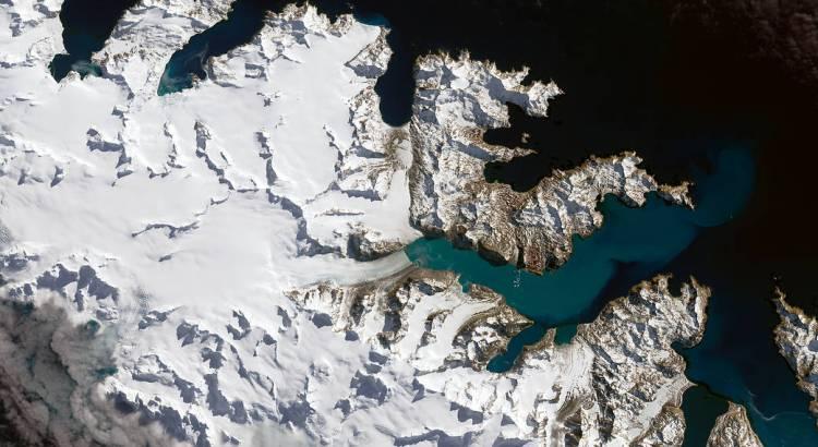 NASA IMAGE OF THE DAY | Glaciers Ebb on South Georgia Island