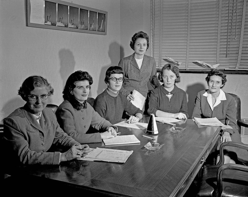 NASA | Women scientists at NASA in January 1959