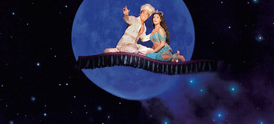 Disney's Broadway musical ALADDIN turns three year old