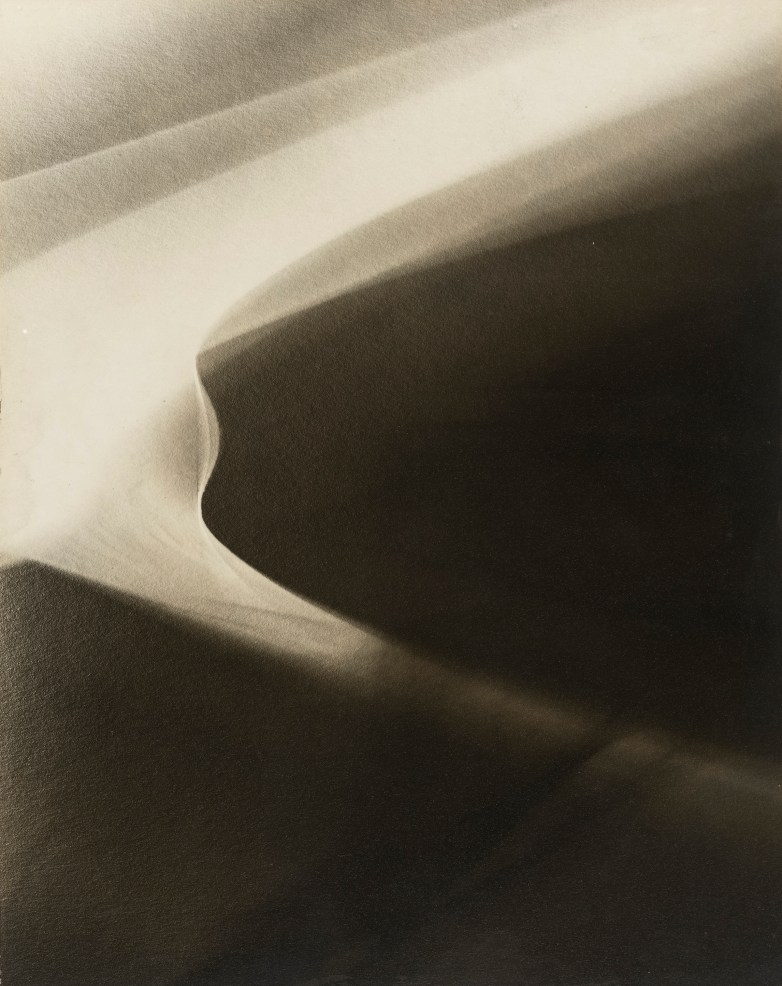 "LOTTE JACOBI (American, born Germany. 1896–1990) Abstraction #4 c. 1945-48 Gelatin silver print 9 3/4 x 7 7/8"" (24.8 x 19.8 cm) Gift of Mrs. Charles Liebman 475.1960"