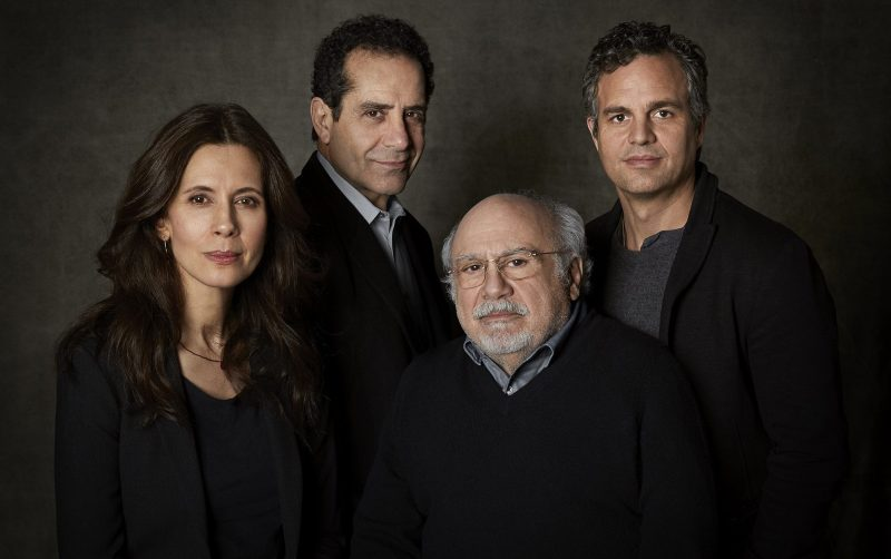 Ruffalo, DeVito, Shalhoub, Hecht star in Arthur Miller's THE PRICE, photo by Richard Phibbs 2017