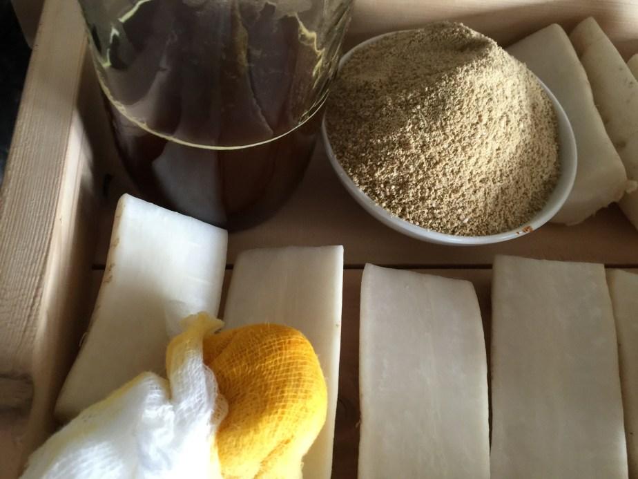 Making Koji Flour, Controlling Water