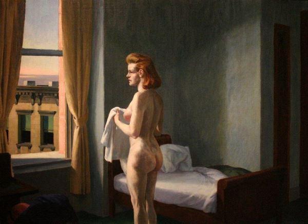 La solitude représentée par un nu de Hopper
