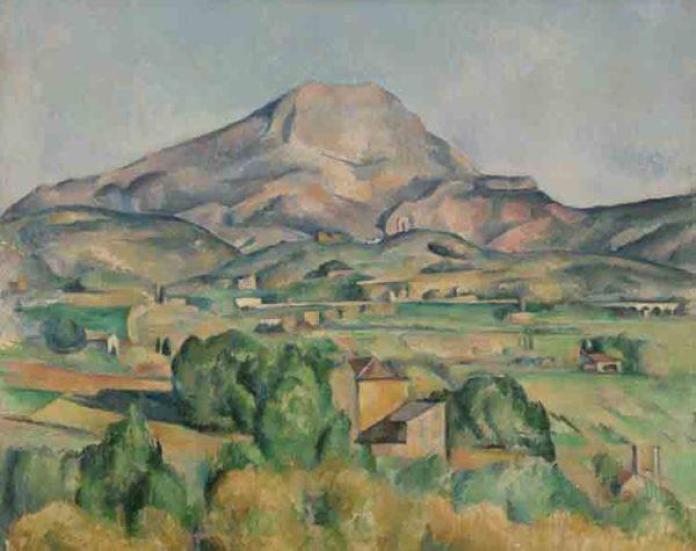 Cezanne - la montagne saint victoire