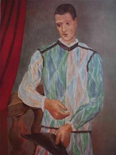 Picasso - Arlequin