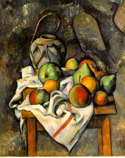 Nature morte de Cézanne
