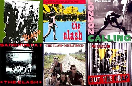 the clash - albums