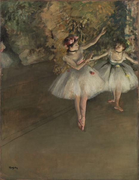 Degas chez Samuel Courtauld