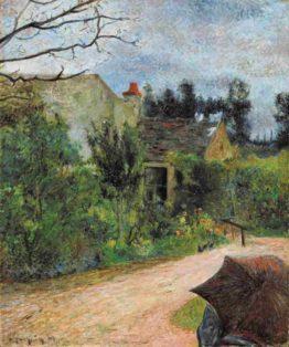 le jardin de Pissarro Recto-verso