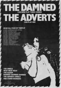 the damned the adverts