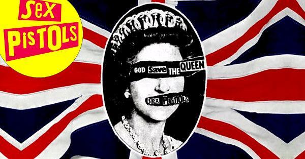 sex pistols god save the queen no future