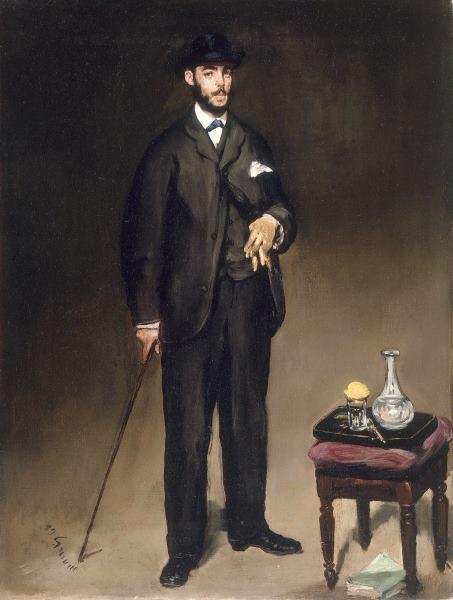 Théodore Duret portrait par Edouard Manet
