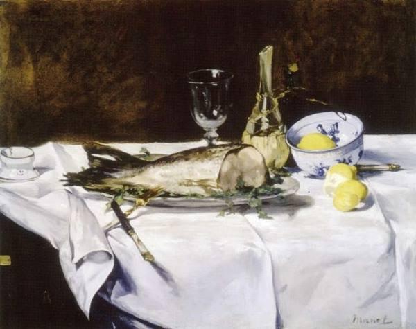 Nature morte par Edouard Manet