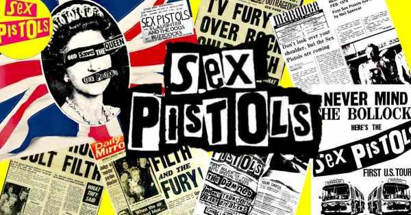 Johnny Rotten sex pistols grande escroquerie du rock'n'roll