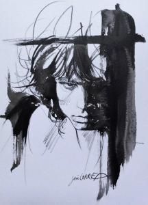 """illustration des tourments de Jim Morrison évoqués dans le titre """"The End"""""""