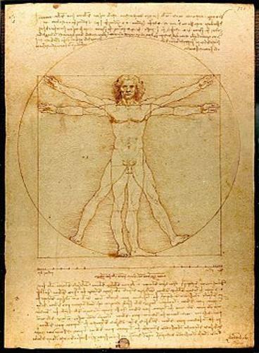 Dessin de L de Vinci