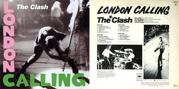 the clash pochette london calling