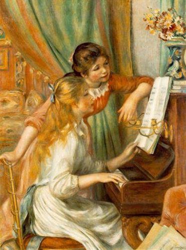 Jeunes filles au piano de Renoir