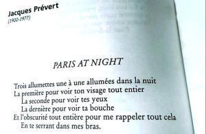 Jacques Prévert - Paris at night