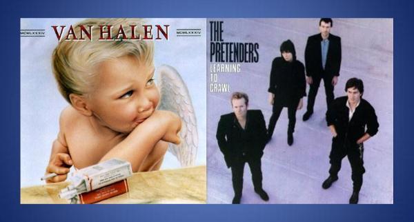 Van Halen et The Pretenders - Pop and Rock around 1984