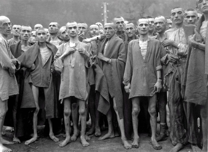 Jews at Ebensee Concentration Camp