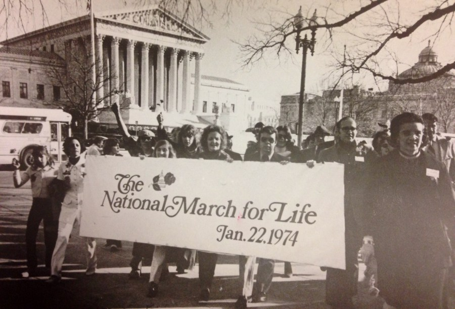 March for Life 1974